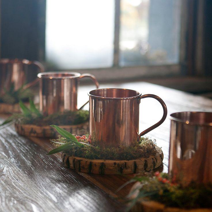 TERRAIN GIFT PICK : The Oversized Copper Mug. #giftsandgreens #shopterrain