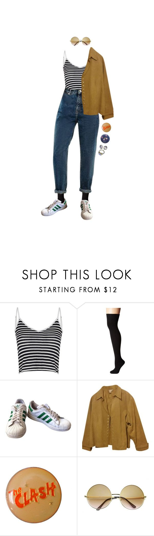 """""""everything."""" by flowersoflife ❤ liked on Polyvore featuring Glamorous, Socksmith, adidas, Coldwater Creek, ZeroUV, David Yurman and plus size clothing"""