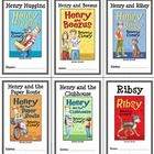 * Follows the Common Core Standards *  This Henry Huggins Collection contains all six Novel Studies from the Henry Huggins Series by Beverly Cleary. In total, there are 181 pages. Each Novel Study is in booklet-style format.  This download includes all 6 Novel Studies from the excellent Henry Huggins book series by Beverly Cleary: Henry Huggins Henry and Beezus Henry and Ribsy Henry and the Paper Route Henry and the Clubhouse Ribsy