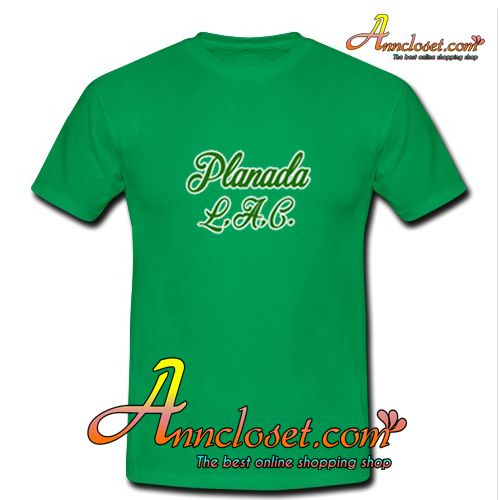 Planada T-Shirt from anncloset.com This t-shirt is Made To Order, one by one printed so we can control the quality.