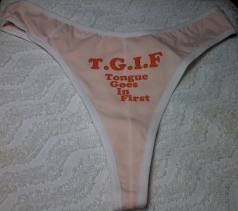 As knock-off time nears, we are pondering...is this the true meaning of TGIF? Amen!