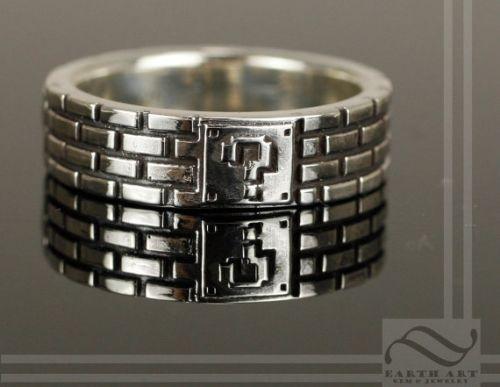 mario wedding ring - Geeky Wedding Rings