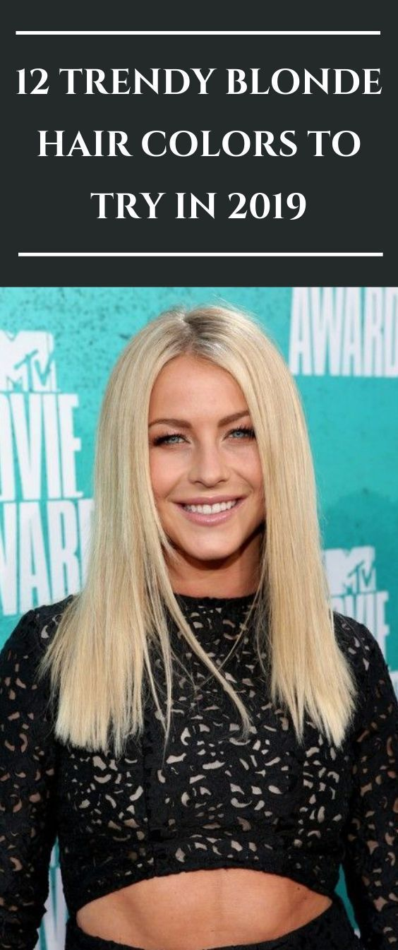 12 TRENDY BLONDE HAIR COLORS TO TRY IN 2020