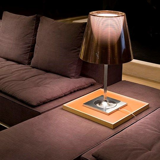 KTribe T Discover The Flos Table Lamp Model By Philippe Starck Color Fumee