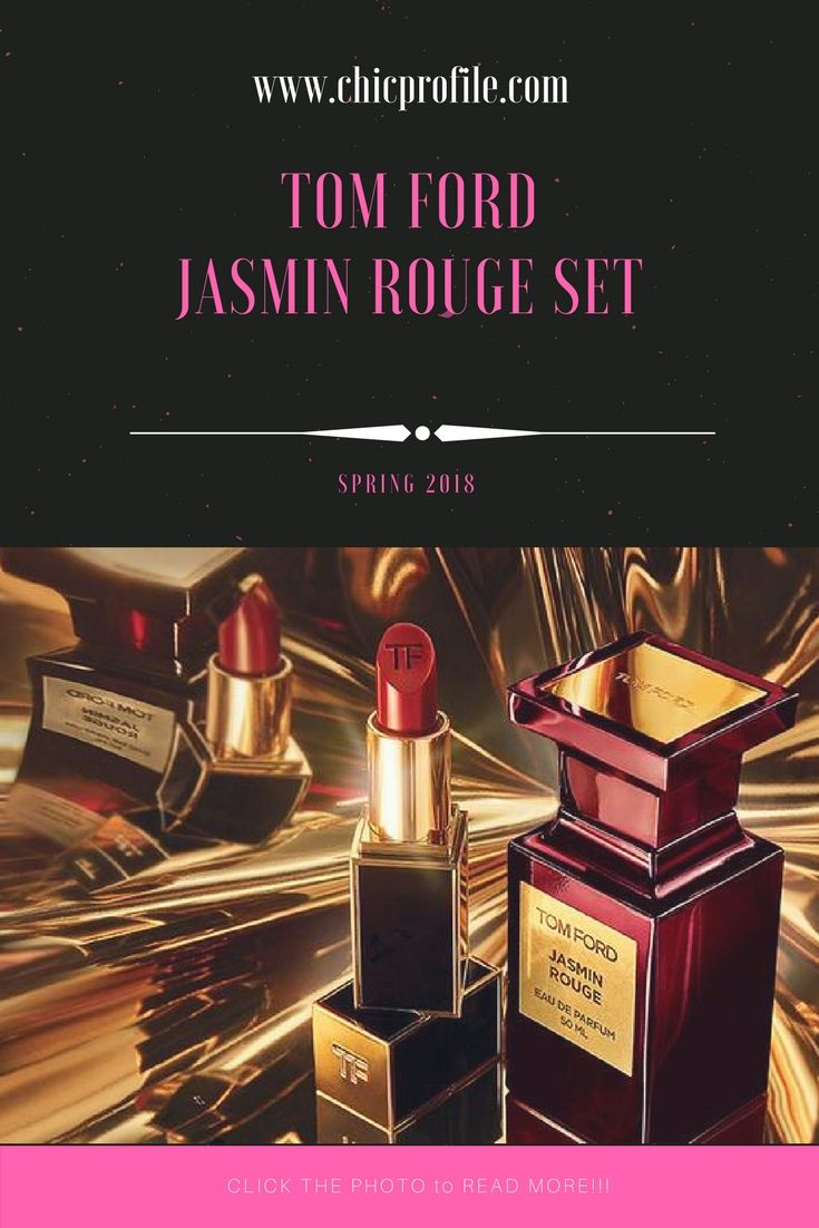 Arriving in a sleek box with gold-toned accents, Tom Ford presents the Jasmine Rouge gift set. In one sleek collection, the luxury label delivers its exuberantly spicy fragrance Jasmin Rouge  via @Chicprofile