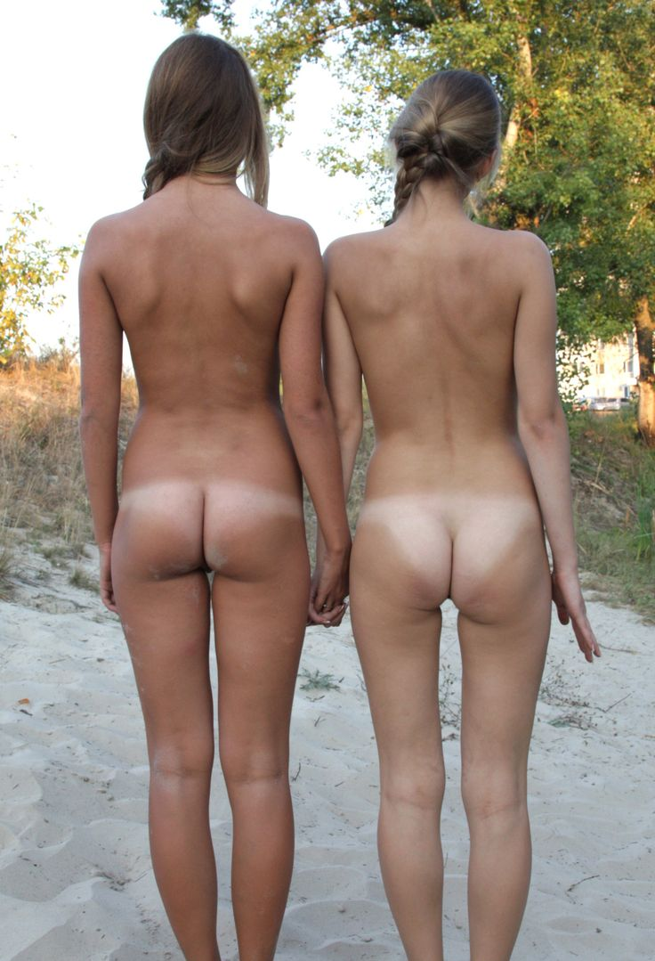 teens with tan lines