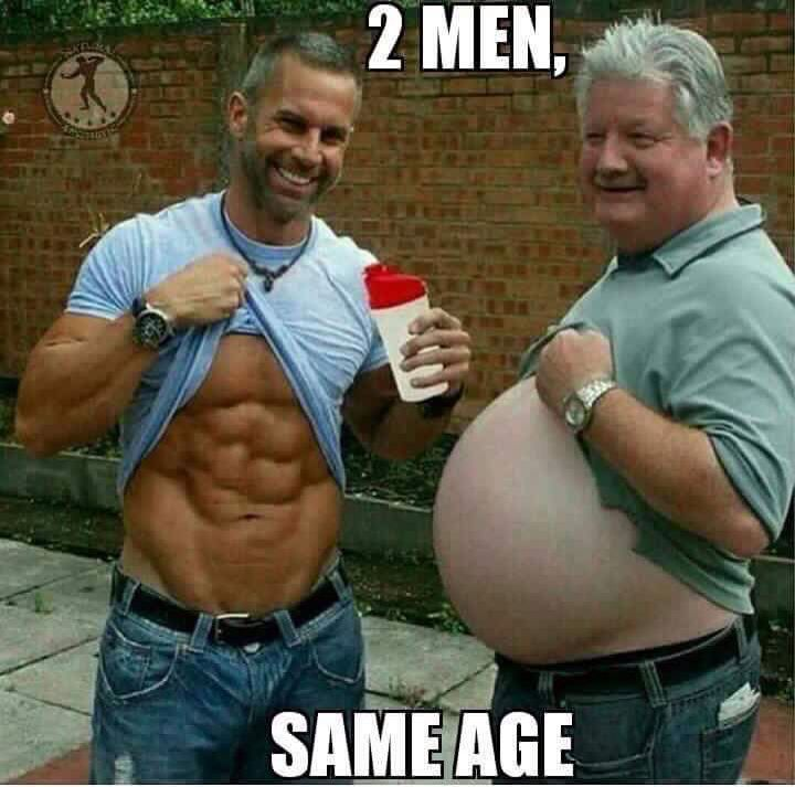 Two Men, Same Age, The Choice is Yours