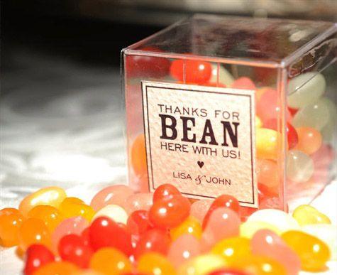 jelly bean box favors