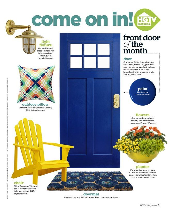 HGTV Magazine, May 2016, (page 4b)