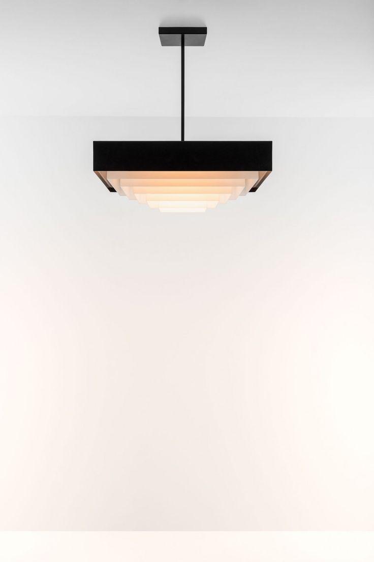 Dimore Studio - Black and White Square Pendant