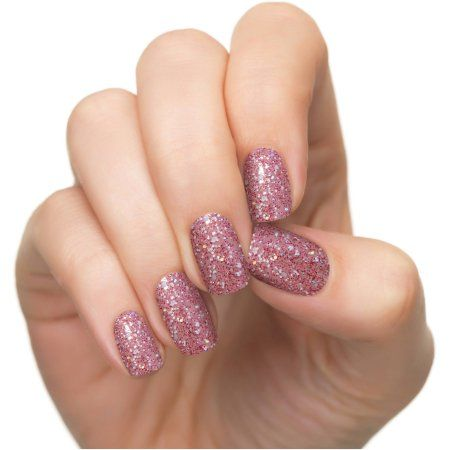 Coconut Nail Art by Incoco Nail Polish Strips, Shine Bright, 12 count