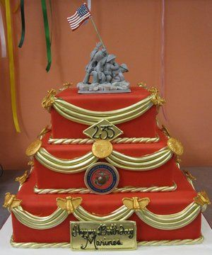24 best usmc cake ideas images on Pinterest Military cake Marine