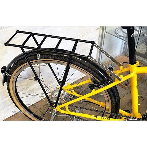 Thorn Expedition Steel Rear Cycle Pannier Rack - Black Powdercoat