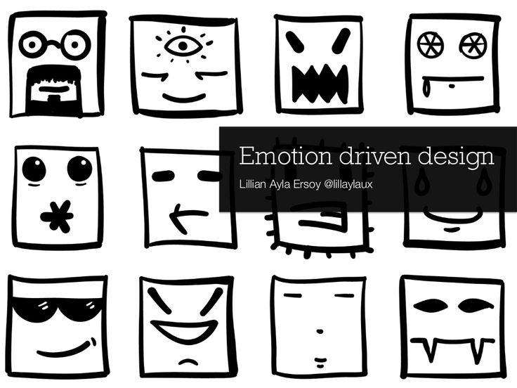 Emotion Driven Design by Lillian Ayla Ersoy via slideshare