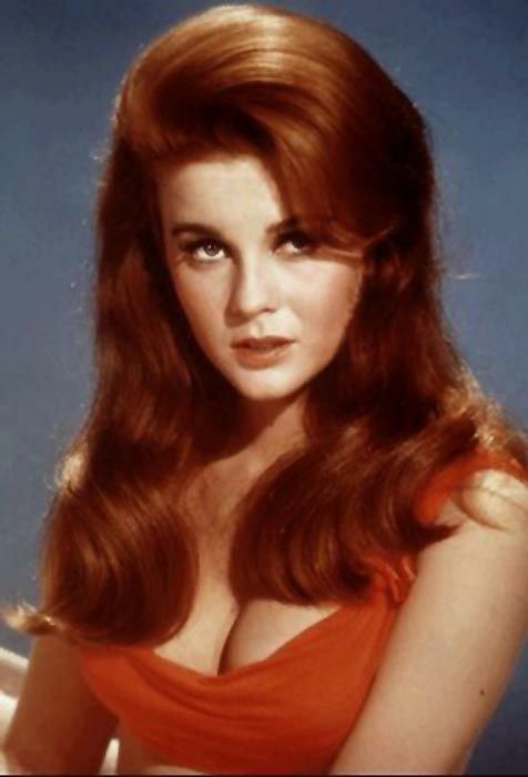 Ann Margaret… the most beautiful redhead