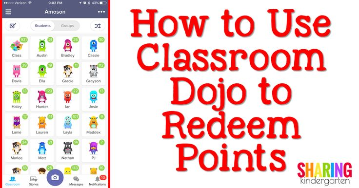 How to Use Classroom Dojo to Redeem Points