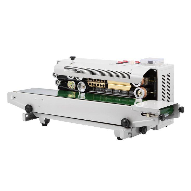OrangeA Continuous Sealing Machine FR-900 Auto Sealing Sealer Machine Horizontal Sealing Sealer for PVC Membrane Bag Film (FR-900)