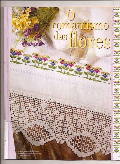 Ponto Cruz de Crochê 15 - Rejane - Picasa Web Albums
