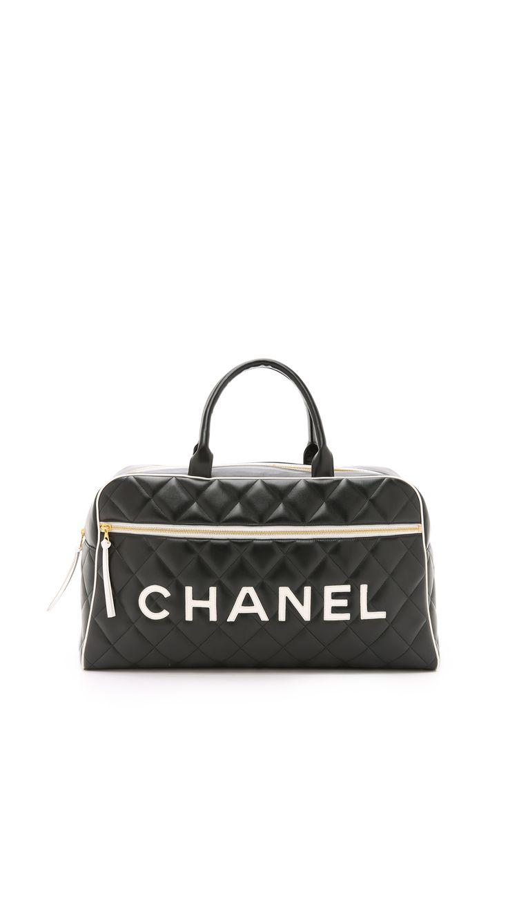Chanel Bowling Bag, $3,500; shopbop.com   - ELLE.com