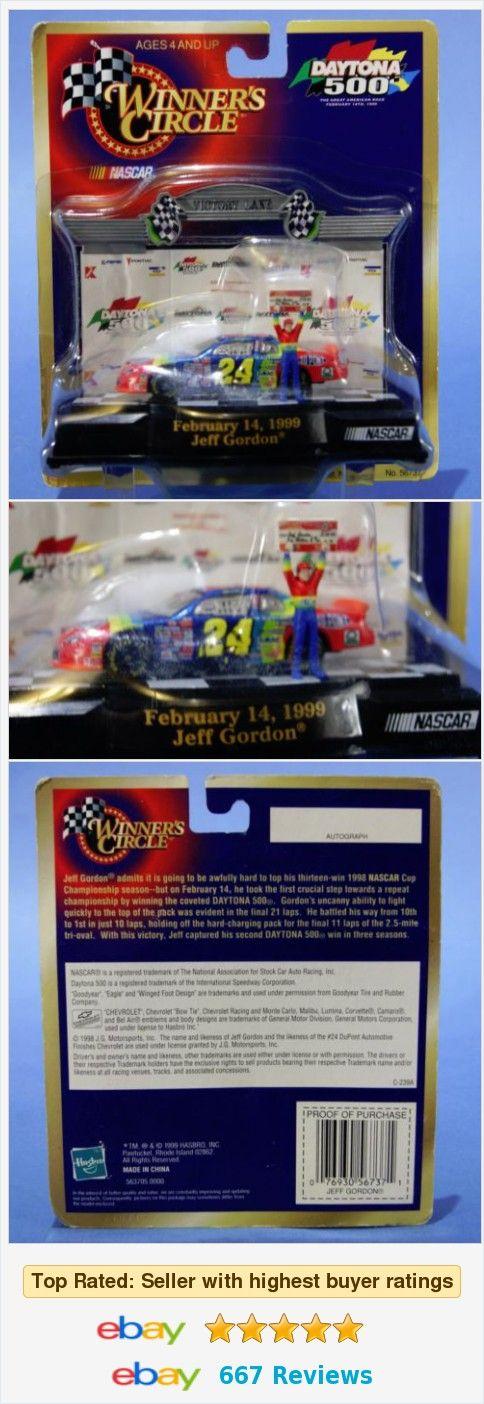 Nascar Winner's Circle Jeff Gordon #24 DuPont Die Cast Car Daytona 500 1999 NEW  | eBay