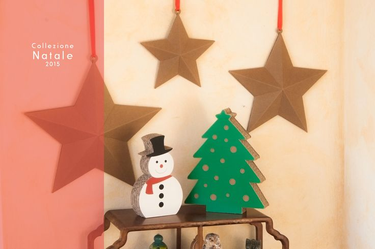 New Christmas Collection:  Create your own #Christmas #deco with #CartonFactory #cardboard #design :)