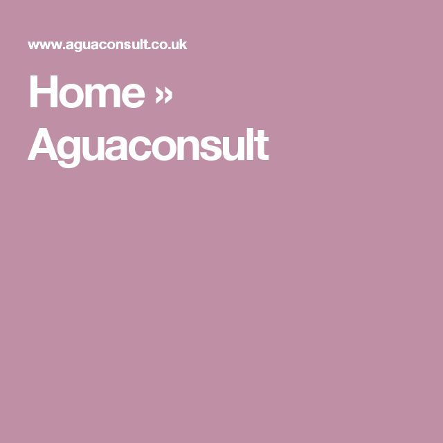 Home » Aguaconsult
