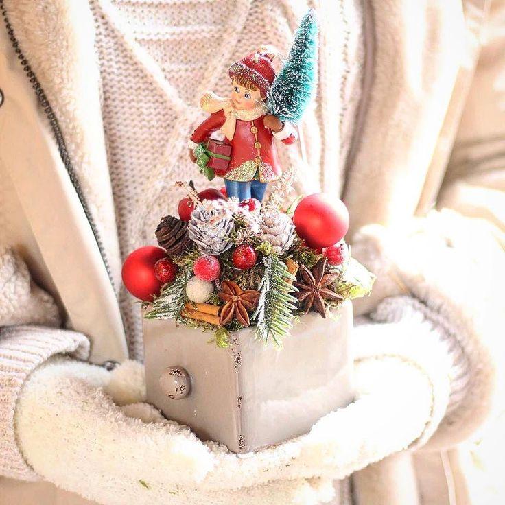 Aj takéto aranžmániky uvidíte na našej výstave v kvetinárstve už 1. decembra  #kvetysilvia #kvetinarstvo #vianoce #vianocnysen #christmas #merrychristmas #christmastree #christmastime #christmas2017 #love #instagood #cute #follow #photooftheday #beautiful #tagsforlikes #happy #nature #like4like #style #nofilter #pretty #design #awesome #home #handmade #winter #floral #picoftheday #decoration