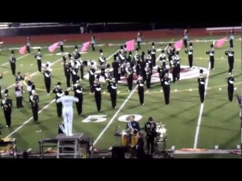 Pennridge High School Marching Band Performing At William Tennent H.S. Celebration Of Bands 10/20/12