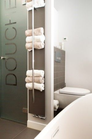 Handig voor in een kleine badkamer