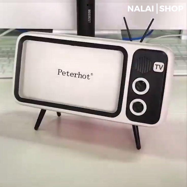 Retro Bluetooth Phone Holder