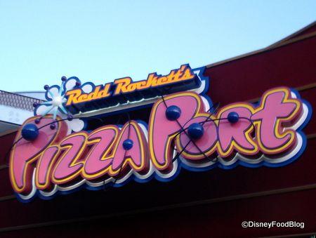 great food at Disneyland ...Pizza Port