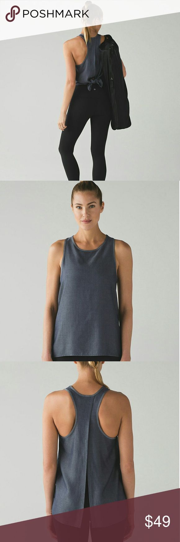 ❤Lululemon Athletica All Tied Up Tank 100% Tencel New with tags, never used. Women's size 10. Color Deep Navy. 100% Tencel Lyocell. lululemon athletica Tops Tank Tops