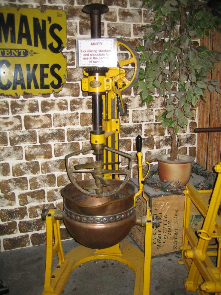 Machine for sweet making.