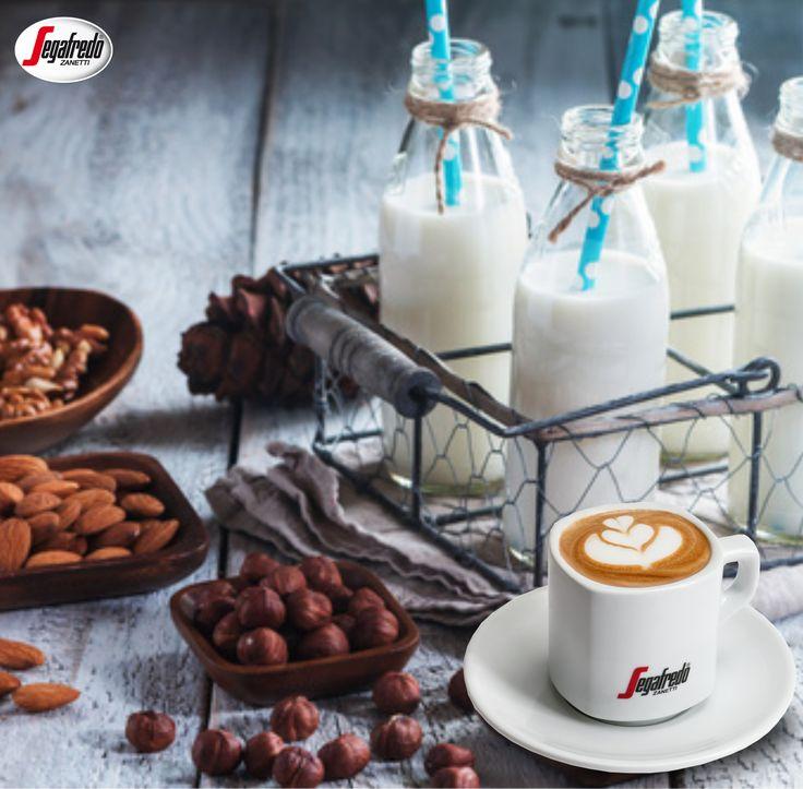 Lubisz cappuccino? Wzbogać je posiekanymi orzechami lub użyj wywaru z nich, aby zaromatyzować mleko przed spienianiem. #segafredo #segafredozanetti #segafredozanettipoland #milk #mleko #cappuccino #orzechy #kawa #coffee #coffeetime  #coffeelovers