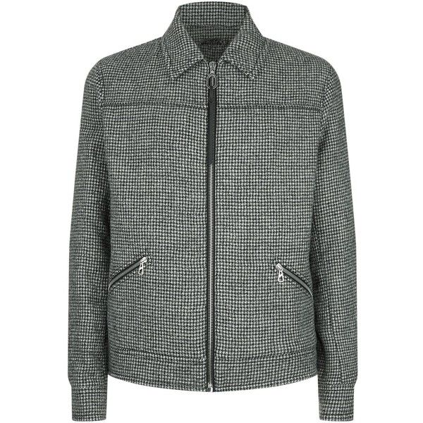 Lanvin Houndstooth Wool Jacket (30,910 EGP) ❤ liked on Polyvore featuring men's fashion, men's clothing, men's outerwear, men's jackets, mens wool jacket, mens wool outerwear, mens leopard print jacket, mens houndstooth jacket and mens formal jackets