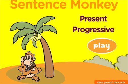 Juegos y actividades para practicar el uso del presente continuo en inglés