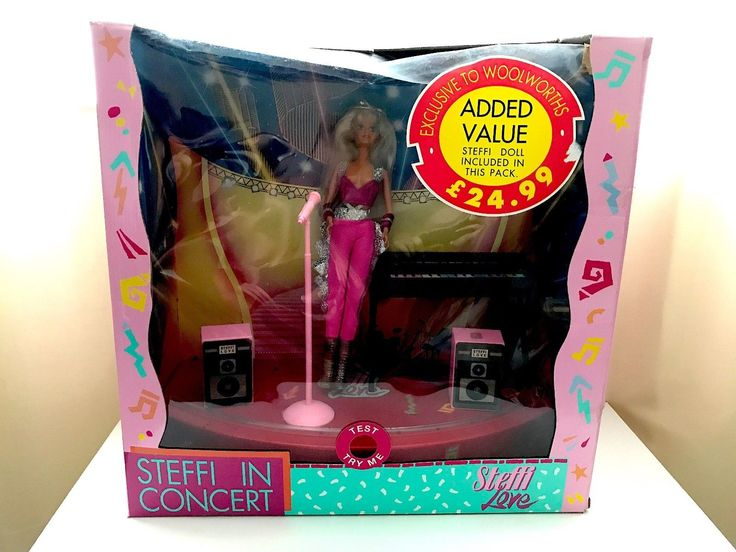 Vintage Steffi Love in Concert Doll 1990's Hasbro Simba Toys | 4.99+6 listed