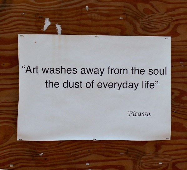 Art: Art Quotes, Quotes Lici, Art Inspiration, Art Wash, Scatter Thoughtstypeographi, Favorite Quotes, Inspiration Quotes, Pablo Picasso, Art Whoknew