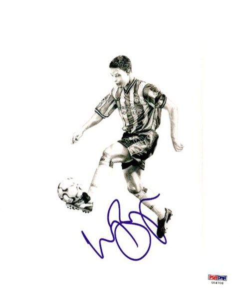 Wayne Bridge Autographed 8x10 Photo Chelsea PSA/DNA #U54708
