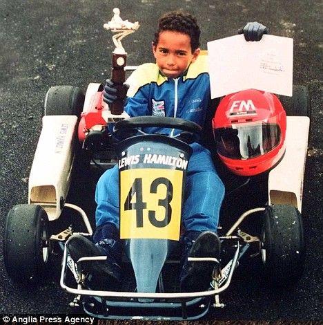 lewis hamilton kart racing - Google Search