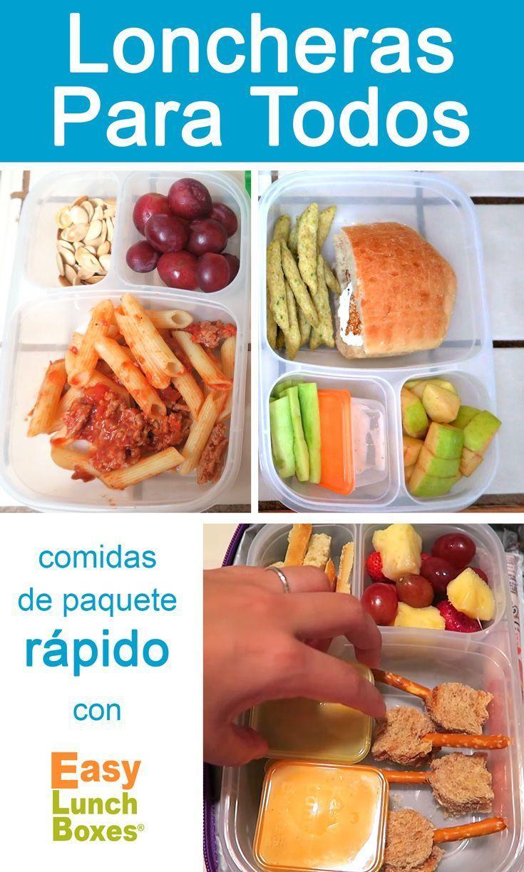 Empaque los almuerzos rapido con @Easylunchboxes #loncheras