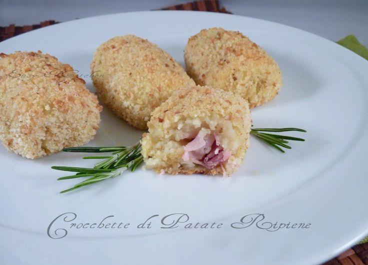 Crocchette di patate filanti ricetta facile