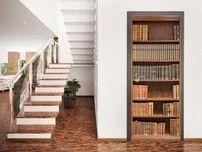Adesivo per porte Libreria Antica