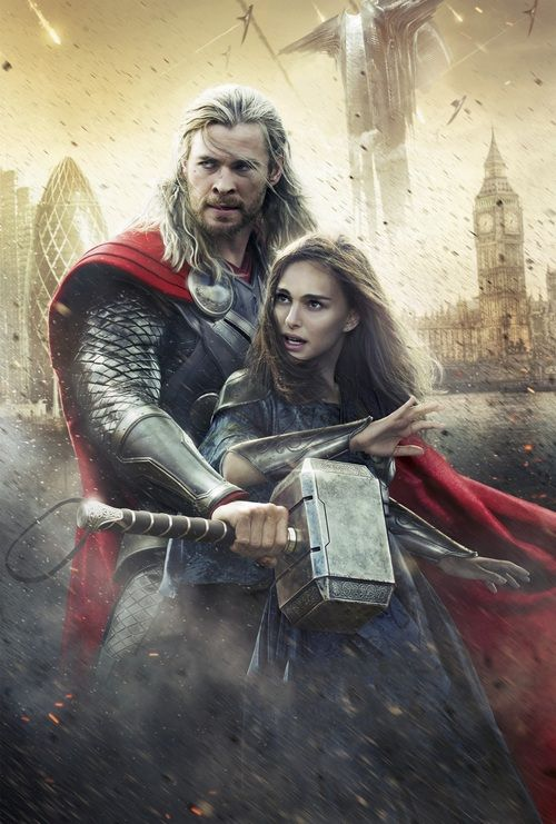 Thor.  Love the first one and the second-Dark World.  Expect to see a third in 2015.