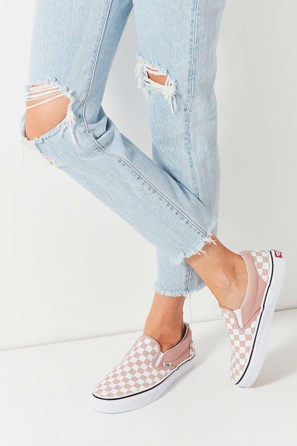 a49943dd9557 Vans Checkerboard Slip-On Sneaker