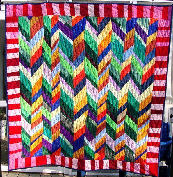 627 best Chevron / Braided / Herringbone Quilts images on ... : quilt photos galleries - Adamdwight.com