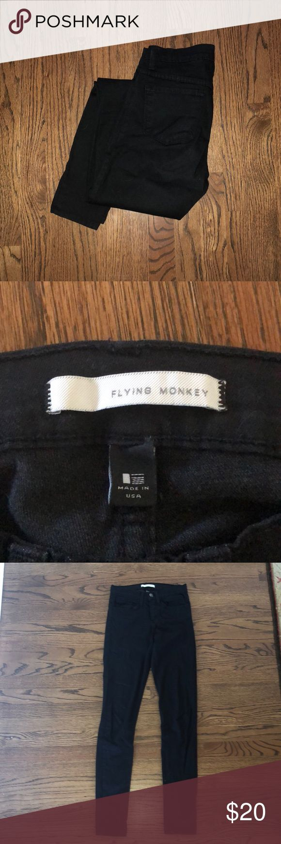 Flying monkey jeans Worn, but still in great condition. Offers accepted. flying monkey Jeans Skinny