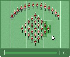 Design a Show - Micro Marching League. OHMYGOODNESS, anyone in marching band or who used to be should mess with this! It is really cool! It lets you create a show!