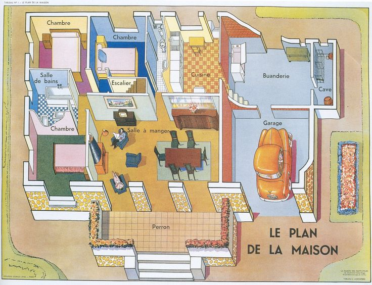 96 best images about french house vocab on pinterest for Programme plan maison