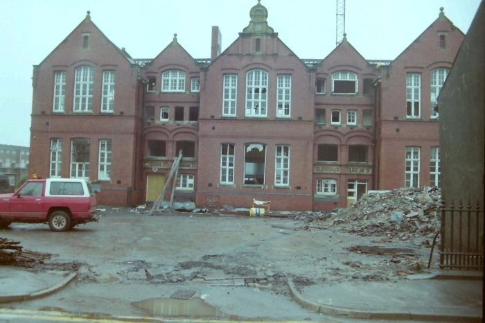 Demolition of Pentrepoeth